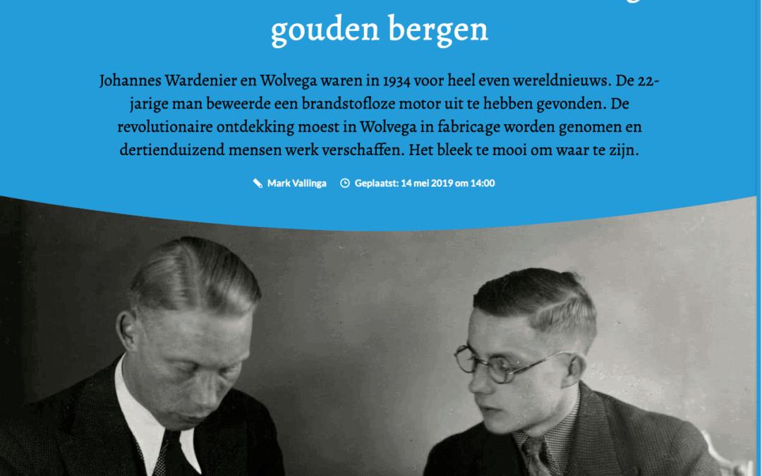 Het Mysterie Wardenier in Friesch dagblad