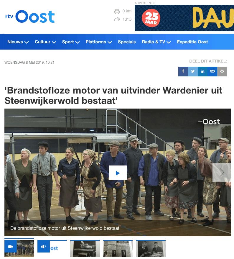 RTV-Oost - Mysterie Wardenier