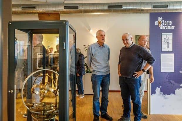 Wardenier-motor te zien in Hoogthij